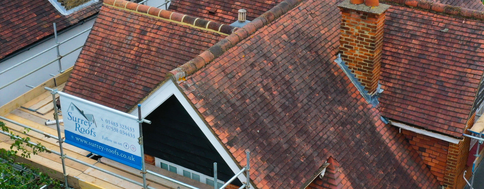 SURREY ROOFS<br/>ROOFING SPECIALISTS